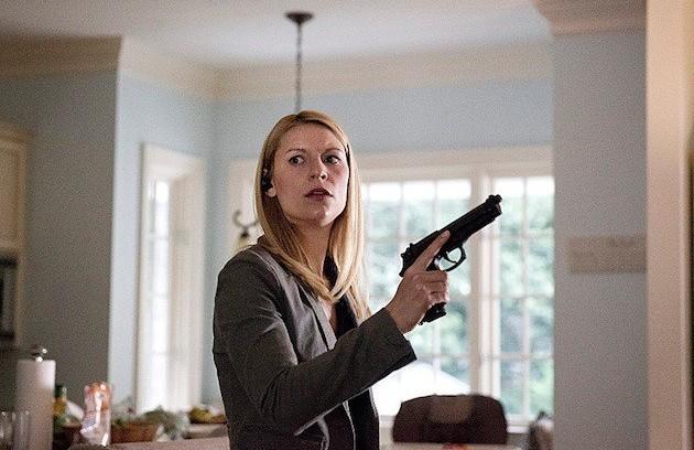 """""""Homeland"""":  """"É a série que eu mais amo. Claire Danes dá um show como Carrie Mathison"""" (Foto: Reprodução da internet)"""
