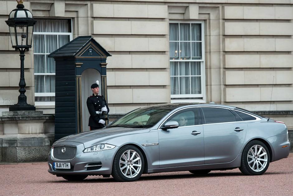 Jaguar XJ da primeira-ministra Theresa May (Foto: Chris J Ratcliffe/Getty Images)
