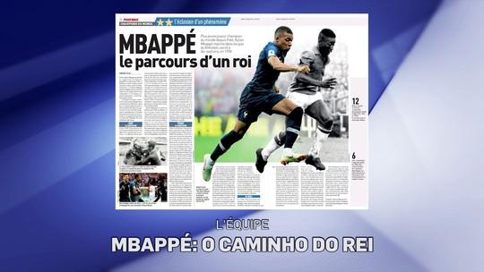 Redação: jornal francês compara início de Mbappé com o de Pelé