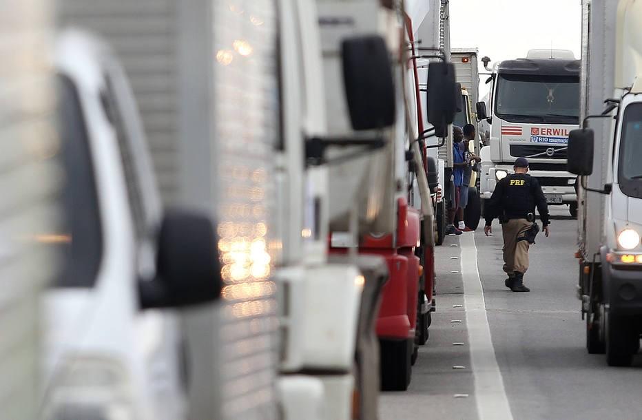 Greve dos caminhões afeta hospitais (Foto: Estadão Conteúdo)