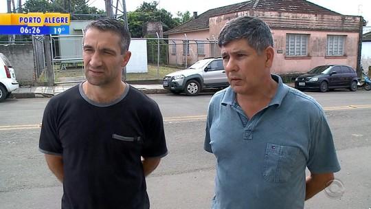 Amigos resgatam criança que sobreviveu a acidente que matou a mãe na BR-287, em São Pedro do Sul