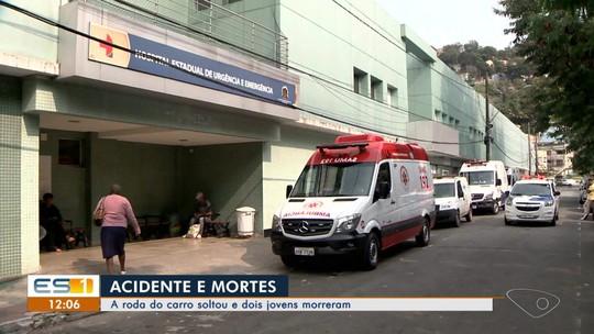 Casal morre e dois jovens ficam feridos em acidente em Vila Velha, ES