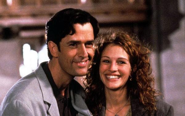 Rupert Everett com Julia Roberts em 'O Casamento do Meu Melhor Amigo' (1997) (Foto: Reprodução)