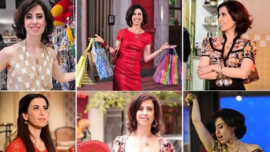 Fernanda Torres comemora aniversário no dia do último episódio de 'Tapas & Beijos'