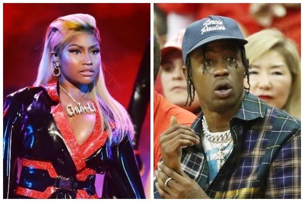 Nicki Minaj e Travis Scott (Foto: Getty Images)
