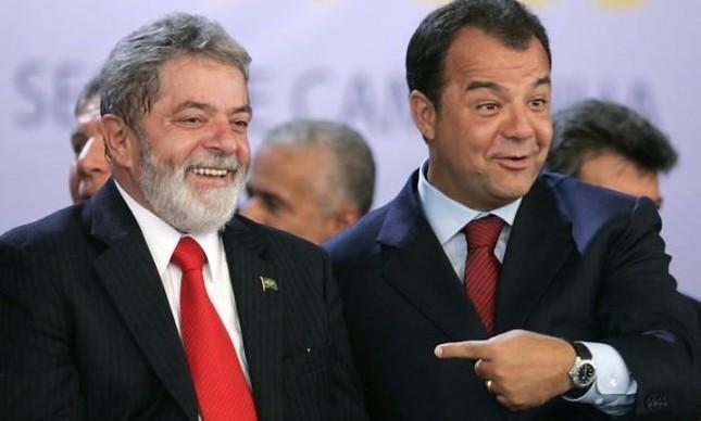 Lula e Sérgio Cabral - Os Bons Companheiro