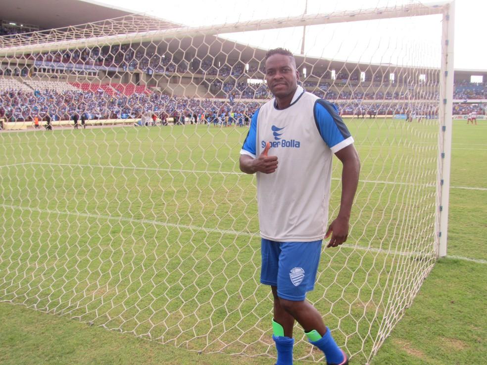 Marcelo Nicácio jogou 10 partidas na Série D — Foto: Denison Roma / GloboEsporte.com