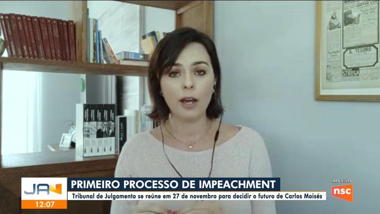 Tribunal de Julgamento se reúne em 27 de novembro para decidir futuro de Carlos Moisés