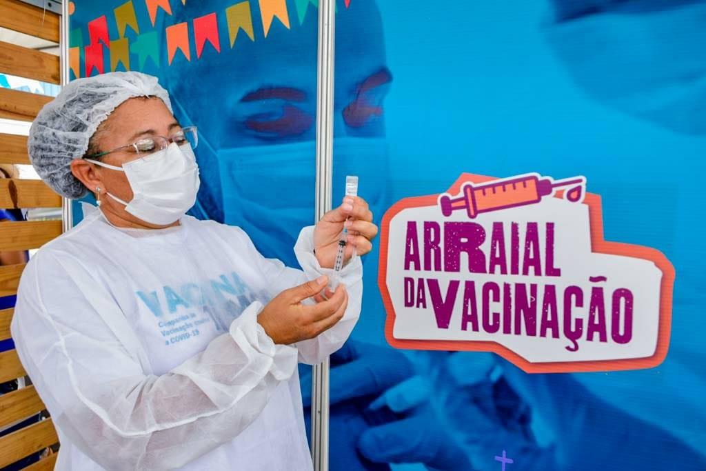 Santa Inês e Açailândia terão 'Arraial da Vacinação' contra a Covid nesta quinta-feira (17)