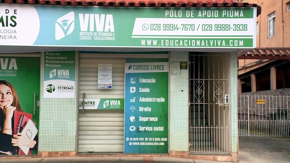 Instituição de ensino que Secretária de Educação é sócia foi investgada por venda de diploma, no ES  — Foto: Reprodução/ TV Gazeta