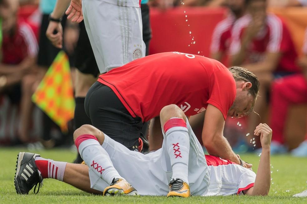 Abdelhak Nouri Ajax x Werder Bremen — Foto: Getty Images