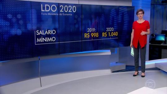 LDO prevê correção do salário mínimo só pela inflação, sem aumento real