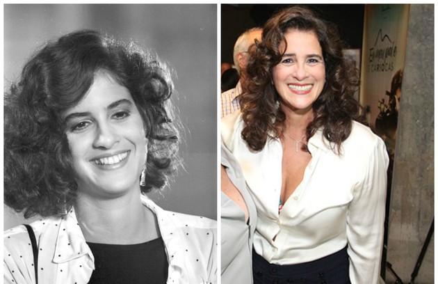 A Lúcia Veríssimo coube o papel de Laiz Brandão, irmã de Lúcia (Bruna Lombardi), na história escrita por Lauro César Muniz (Foto: Reprodução)