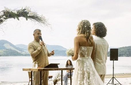 Pastor Rinaldo Pereira celebrou o casamento Reprodução/Instagram