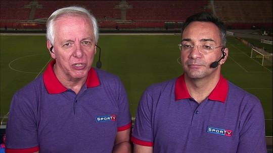 """Milton Leite diz que Kazim não pode jogar no Corinthians: """"Muito limitado"""""""