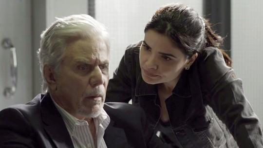Antônia coloca Athaíde contra a parede: 'O senhor tá protegendo a sua filha?'