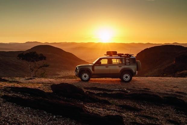 As paisagens de vista livre da Namibia foram as grandes recompensas (Foto: Divulgação)