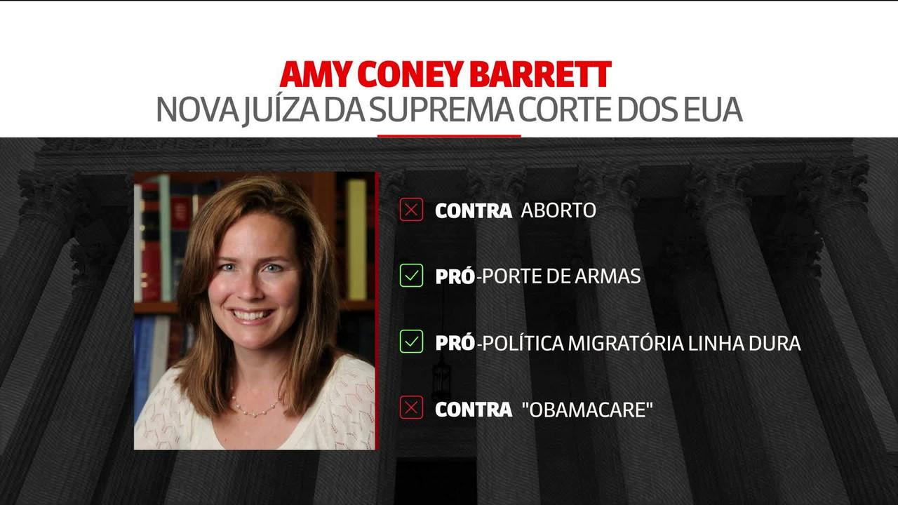 Saiba quem é Amy Coney Barrett, indicada de Trump à Suprema Corte
