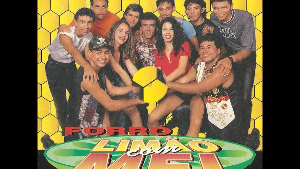 Capa de álbum do Limão com Mel — Foto: Divulgação