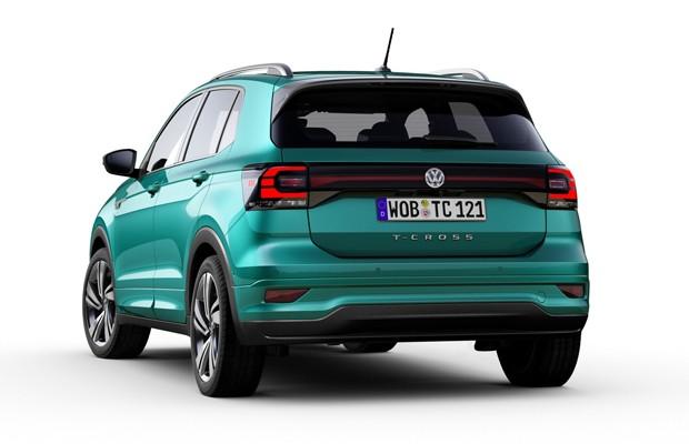 Volkswagen T-Cross europeu (Foto: Divulgação)