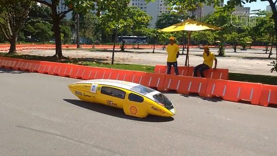 Estudantes do Paraná constroem protótipo de veículo que faz mais de 440 km com um litro de etanol