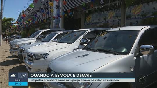Estelionatários anunciam carro com valor baixo para tentar aplicar golpes em Rio Claro