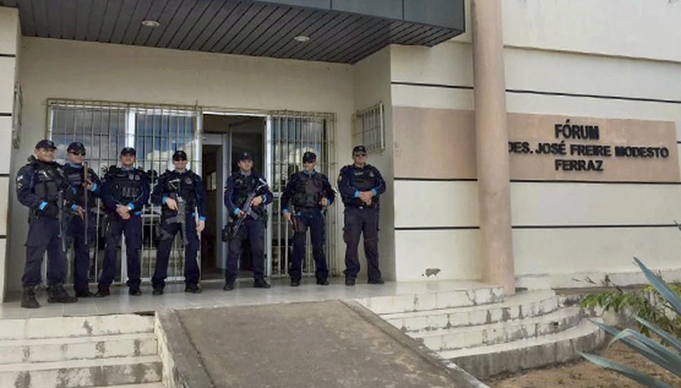 Justiça aceitou pedido do Ministério Público para afastar prefeito de Saboeiro (Foto: MPCE/Divulgação)