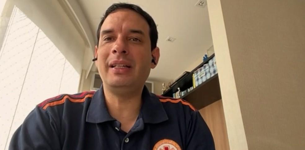 Secretário de Saúde de Salvador, Léo Prates — Foto: Reprodução/TV Bahia