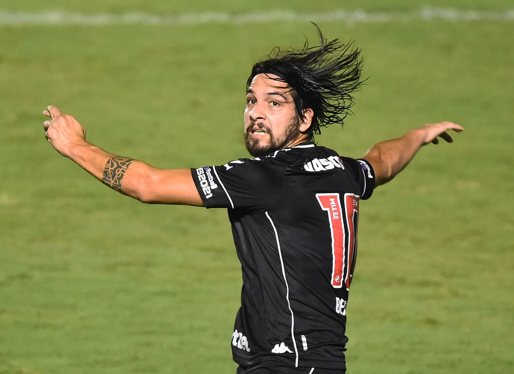 Benítez vai jogar pelo São Paulo em 2021 — Foto: André Durão