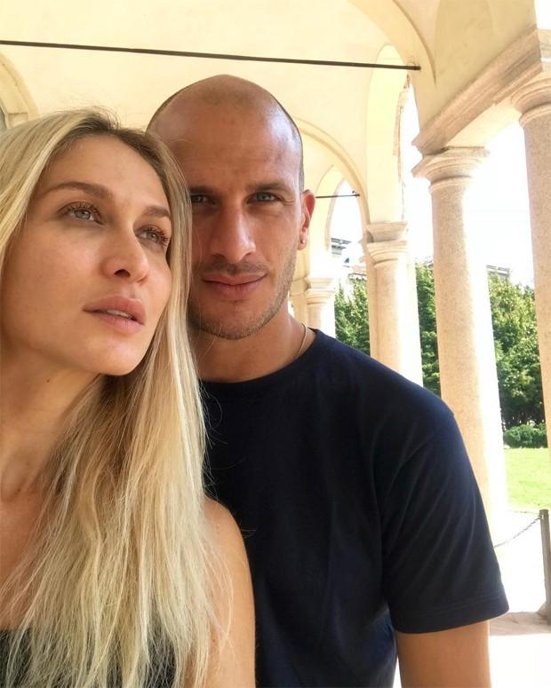 Barbara Romer e Samuel Riva (Foto: Reprodução/Instagram)
