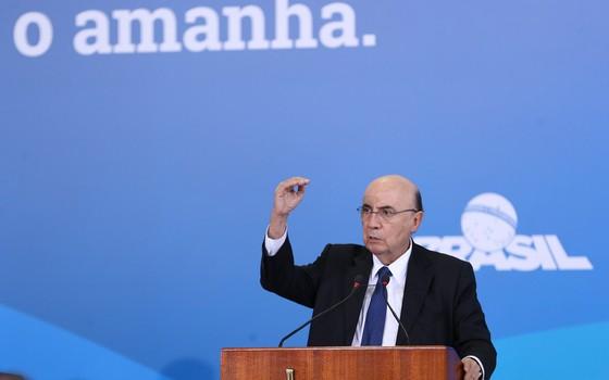 O ministro da Fazenda, Henrique Meirelles (Foto: Valter Campanato/Agência Brasil)