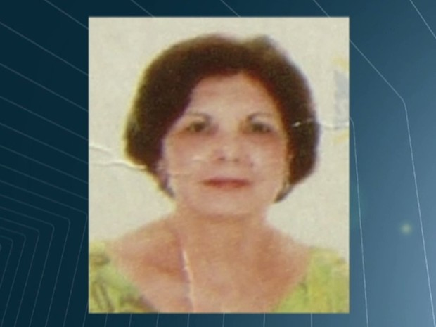 Maura Carlos da Silva, 69, foi morta durante assalto, em Goiânia, Goiás (Foto: Reprodução/TV Anhanguera)