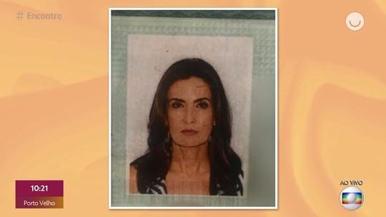 Fátima Bernardes mostra foto do RG e brinca: 'Não quero trocar'