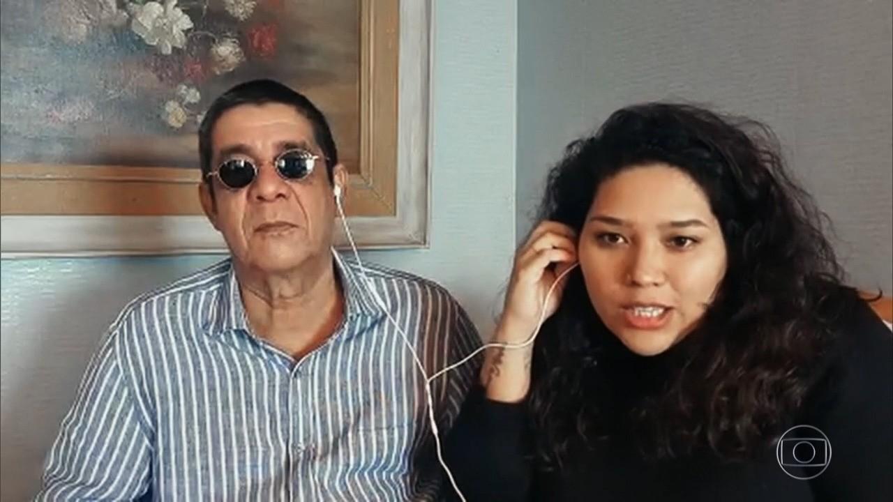 Filha de Zeca Pagodinho diz que pai não desgruda do neto Noah