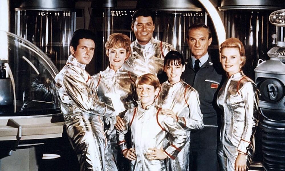 Elenco da versão original de Lost in Space' (Foto: Divulgação)