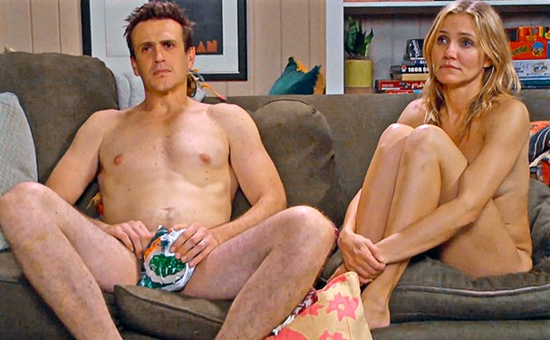 Cameron Diaz e Jason Segel em cena de Sex Tape: Perdido na Nuvem (2014) (Foto: Reprodução)