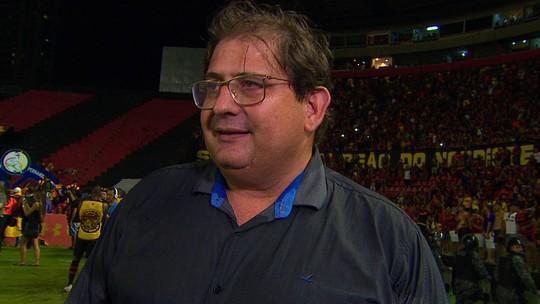 """Guto Ferreira dá nova cara a time e levanta taça após dois meses: """"Sport precisava desse título"""""""