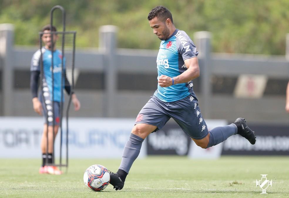 Morato é titular de Diniz no Vasco — Foto: Rafael Ribeiro/Vasco