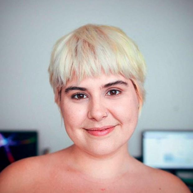 Luiza junqueira @luizajunquerida Lu sempre foi gordinha e, durante a adolescência, sofreu com a depressão. Hoje, a paulista é uma das principais vozes contra a gordofobia. No seu canal Tá, Querida!, no Youtube, ela também fala sobre feminismo e autoestima (Foto: .)
