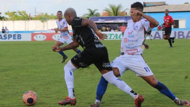 Ataque do Paysandu não conseguiu cirar nenhuma chance de perigo no primeiro tempo