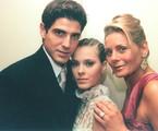 Reynaldo Gianecchini, Carolina Dieckmann e Vera Fischer em 'Laços de família' | Divulgação