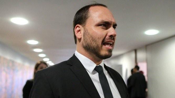 Carlos Bolsonaro, filho do presidente Jair Bolsonaro