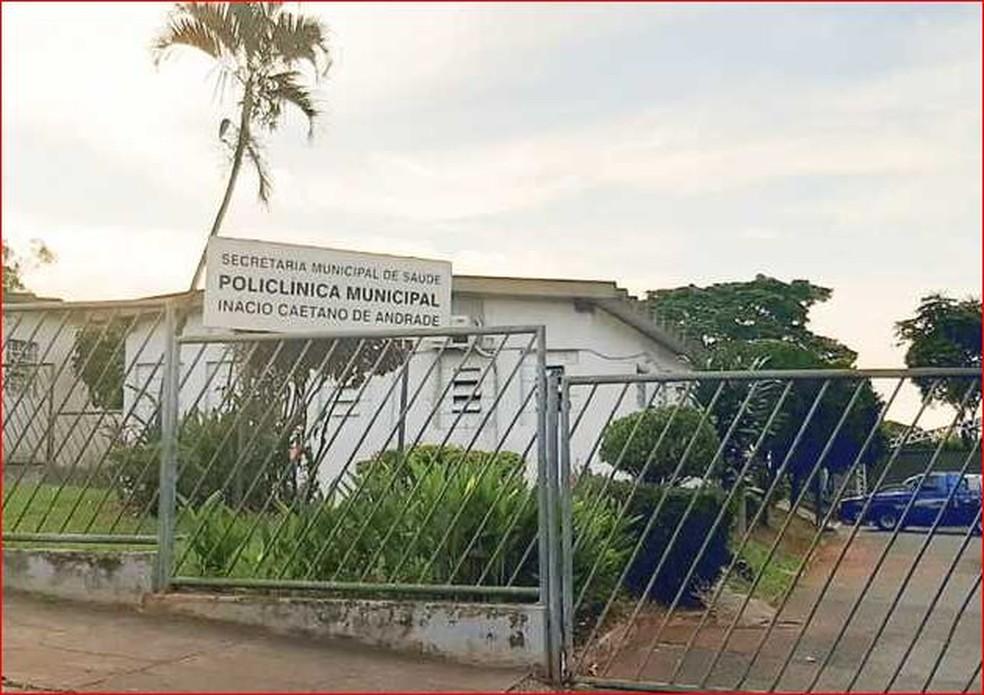 Fachada da Policlínica de Igarapé. na Grande BH — Foto: Prefeitura de Igarapé/Divulgação