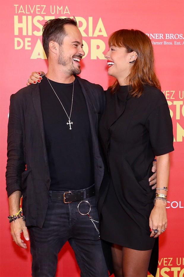 Paulo Vilhena e Amanda Beraldi (Foto: Manuela Scarpa/Brazil News)
