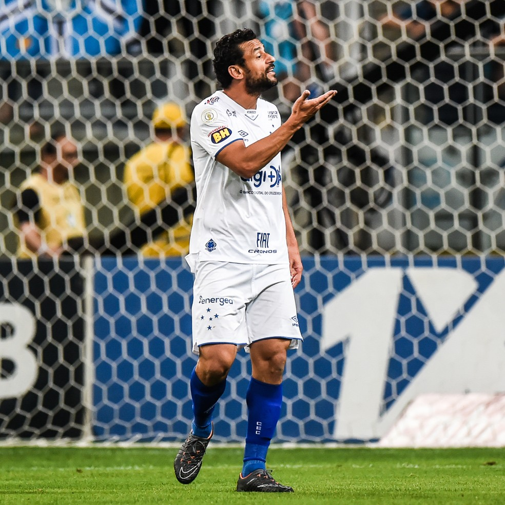 Fred caiu de rendimento na temporada, assim como o Cruzeiro — Foto: Vinícius Costa/BP Filmes