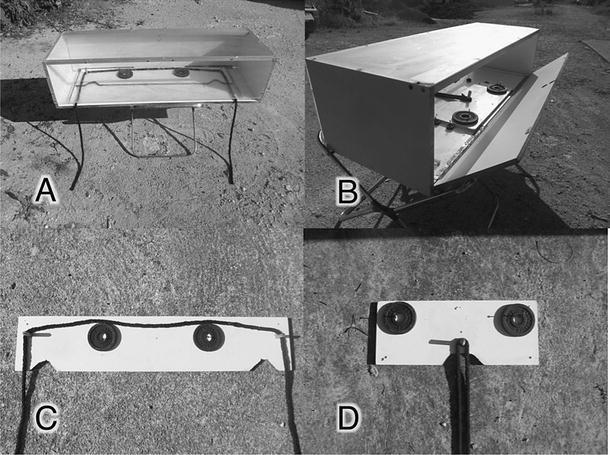 Mecanismo utilizado no estudo de Ljerka Ostojić, da Universidade de Cambridge (Foto: Ljerka OstojićEmail, Nicola S. Clayton)