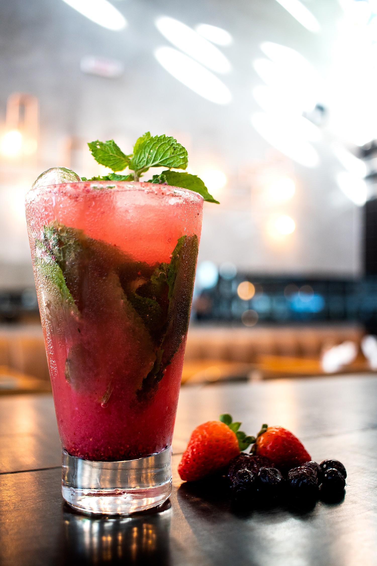 Receita do soft drink Red Mint (Foto: Divulgação)