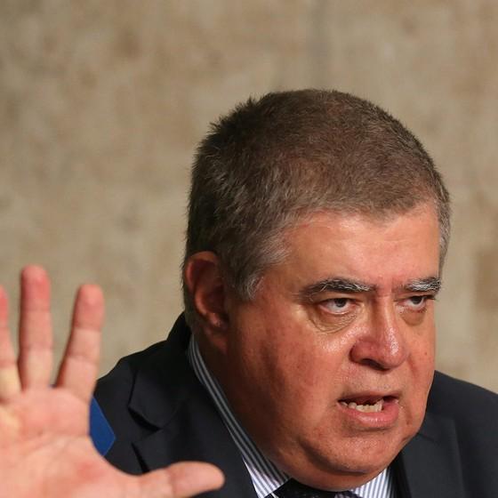 Ministro da Secretaria de Governo, Carlos Marun teve ascensão rápida na política. Diz que o Senado é um baile de debutante, e a Câmara um baile funk (Foto: Ailton de Freitas / Agência O Globo)