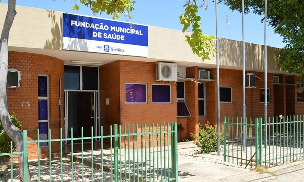 Fundação Municipal de Saúde de Teresina — Foto: Divulgação