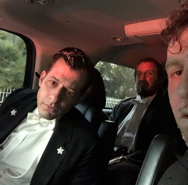 Mark Ronson, Emile Haynie e Ariel Rechtshaid (Foto: Reprodução/Instagram)
